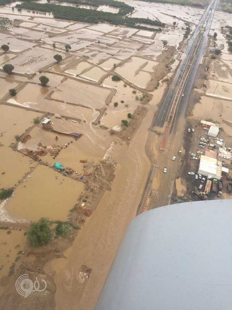 لليوم الثالث.. مدني جازان يستنفر أرضًا وجوًا لمواجهة أضرار السيول