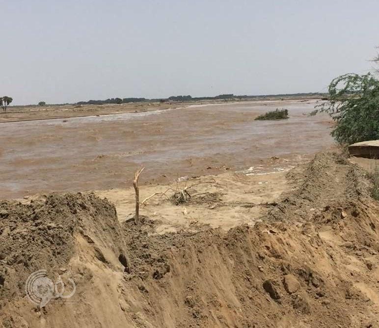 """""""مدني جازان"""" يواصل البحث عن شخصين فقدا إثر السيول"""