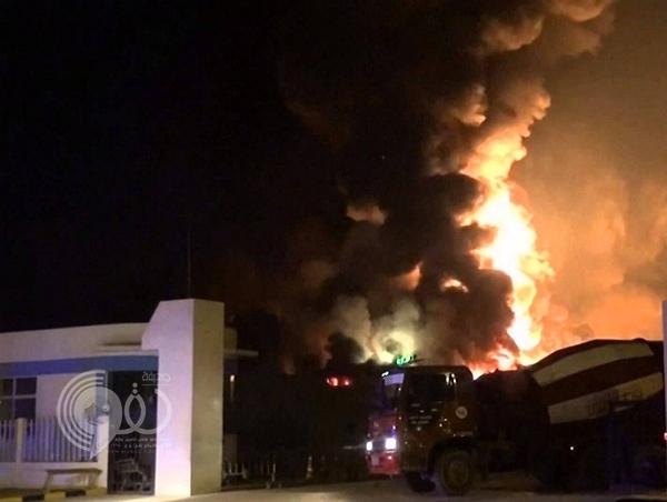 مصرع وإصابة 23 شخصاً إثر حريق اندلع في مصنع شركة الجبيل للبتروكيماويات