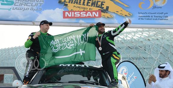 بالفيديو : يزيد الراجحي يحقق أفضل انجاز سعودي في تاريخ الرالي في صحراء أبو ظبي