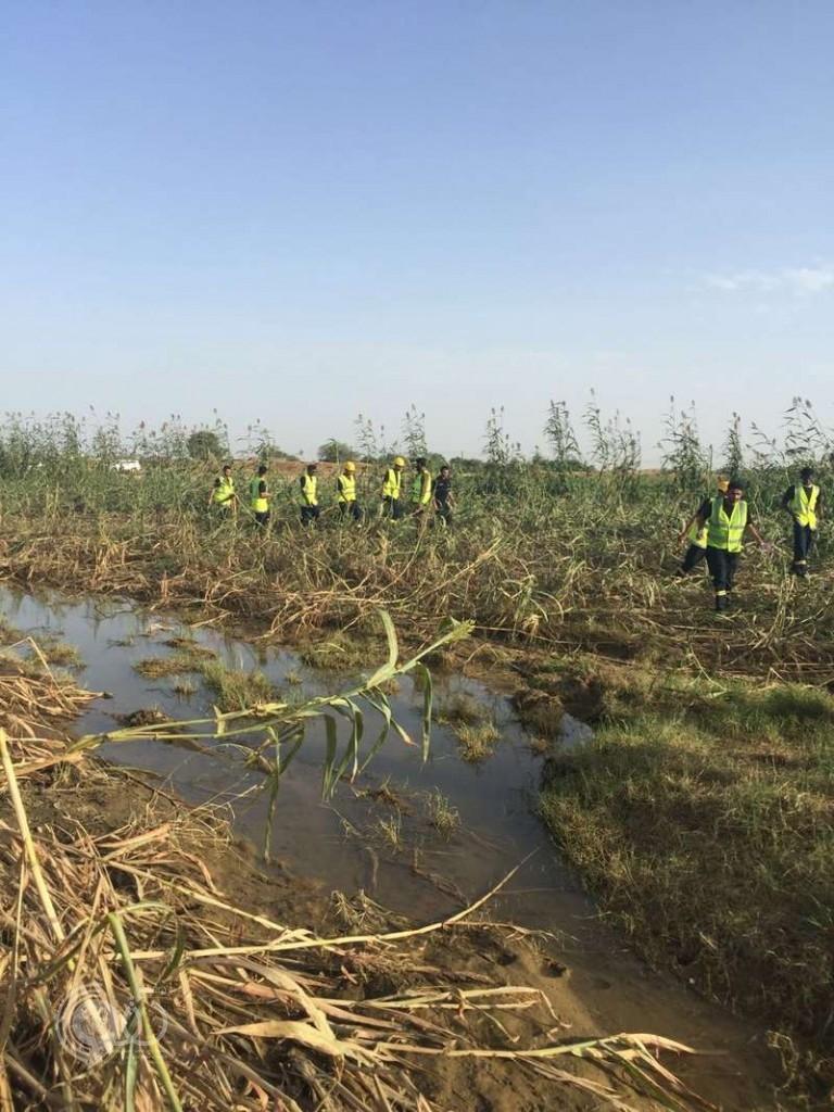 مدني جازان يعلن استمرار تصريف مياه سد وادي بيش