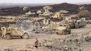 تعزيزات عسكرية ضخمة إلى مأرب قادمة من السعودية
