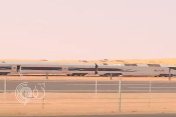 فيديو: قطار الشمال يخرج عن مساره في أول رحلة تجريبية له