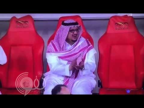 """""""رئيس النصر"""" يوضح سبب تصفيقه بعد هدف الاتحاد"""