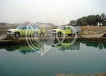 """مدني جازان"" ينتشل جثث 3 أطفال غرقوا في مياه راكدة بوادي شهدان"