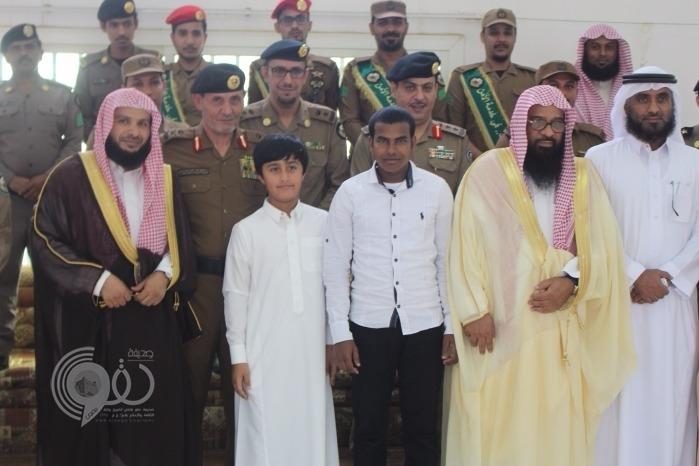 بمتابعة ومباركة سمو أمير منطقة جازان  .. شرطة جازان تحتفي بالمسلم الجديد أحمد محمد -(صور)