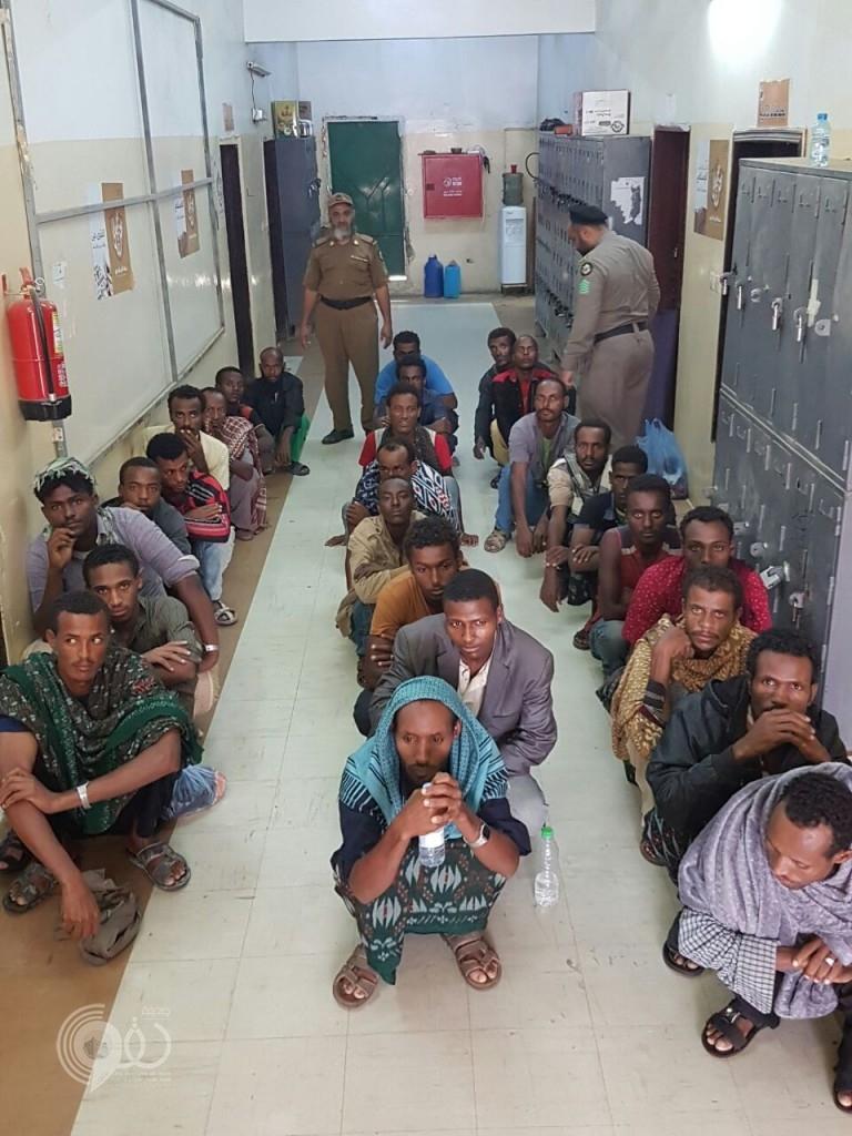 شرطة محافظتي الريث العيدابي تطيحان بعدد من المخالفين وكميات من القات المحظور – (صور)