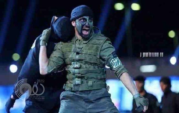 فيديو: عرض قتالي مميز لبطل العالم عماد المالكي أمام ولي العهد