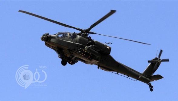 سقوط مروحية عسكرية إماراتية ضمن قوات التحالف باليمن واستشهاد طاقمها