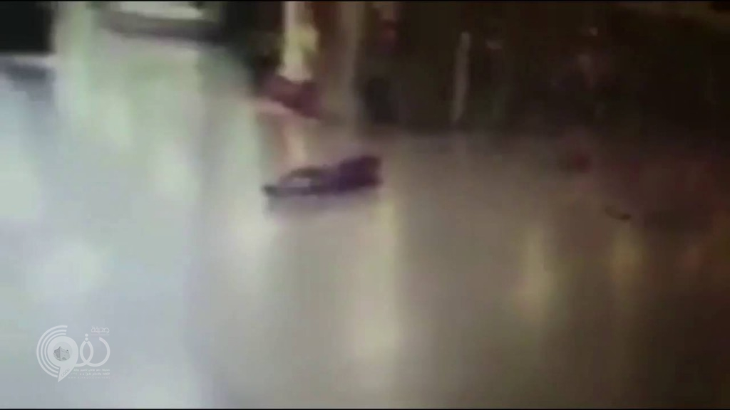 بالفيديو.. لحظة تفجير انتحاري نفسه بمطار أتاتورك بعد إصابته وسقوط السلاح من يده