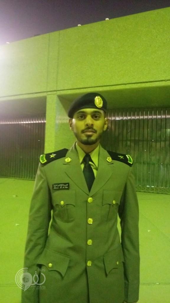 """"""" آل النهاري"""" يحتفلون بتخرج """"محمد مرعي"""" من كلية الملك فهد الأمنية برتبة """" ملازم"""