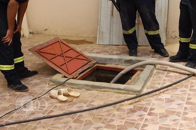 اِنتشال جثّة سيدة سقطت في خزّان المنزل بالمندق