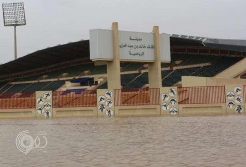 تبوك تحتضن بطولة كرة قدم في مدينة خالد الرياضية