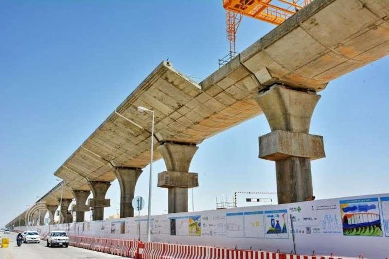 تواصل الأعمال في تنفيذ 74 محطة ضمن مشروع قطار الرياض