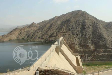 """""""مياه جازان"""": لا صحة لفتح بوابات سد وادي بيش.. والسد قادر على استيعاب كميات كبيرة من السيول"""