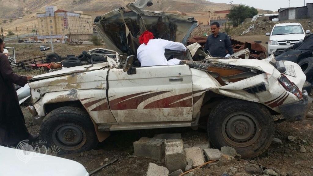 """محافظة الريث تنعي """"جابر المسعودي"""" بعد تعرضه لحادث مروري -(صور)"""