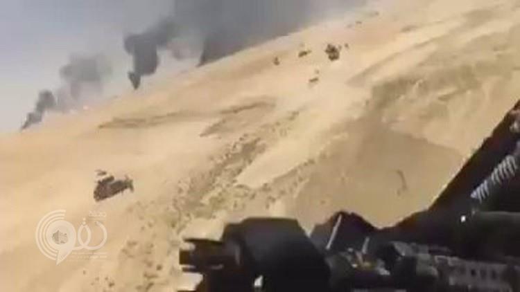 داعش يحرق آبار القيارة بعد استعادة الجيش لقاعدتها الجوية