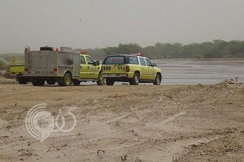 جازان: غرق 4 أشخاص من عائلة واحدة بعد أن جرفت سيول أحد أودية صبيا سيارتهم