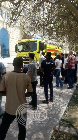حريق في مقر بعثة المنتخب السعودي للشباب بالدوحة