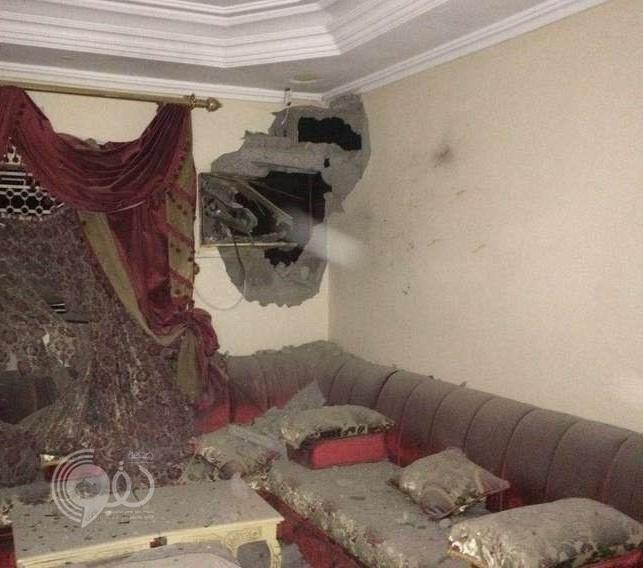 إصابة مواطنة وطفلها إثر سقوط مقذوف عسكري على منزلهما