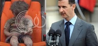 """ماذا فعل بشار بعد عرض صورة الطفل """"عمران"""" أمامه؟"""