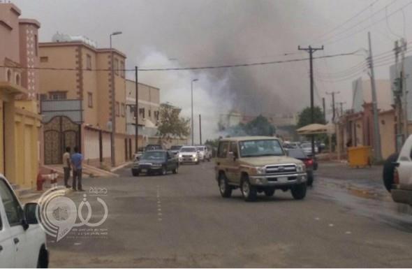 تضرر منزل و3 سيارات واحتراق محول كهربائي إثر سقوط مقذوف حوثي على الطوال بجازان
