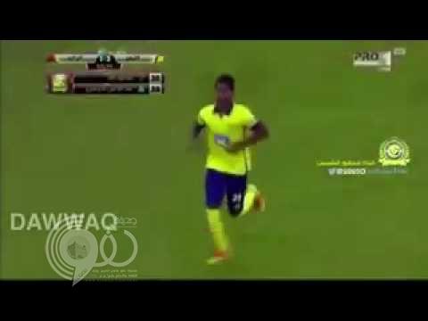 بالفيديو.. حركة لأحد لاعبي النصر في مباراة الرائد تثير جدلاً.. ومغردون: تقليد أعمى