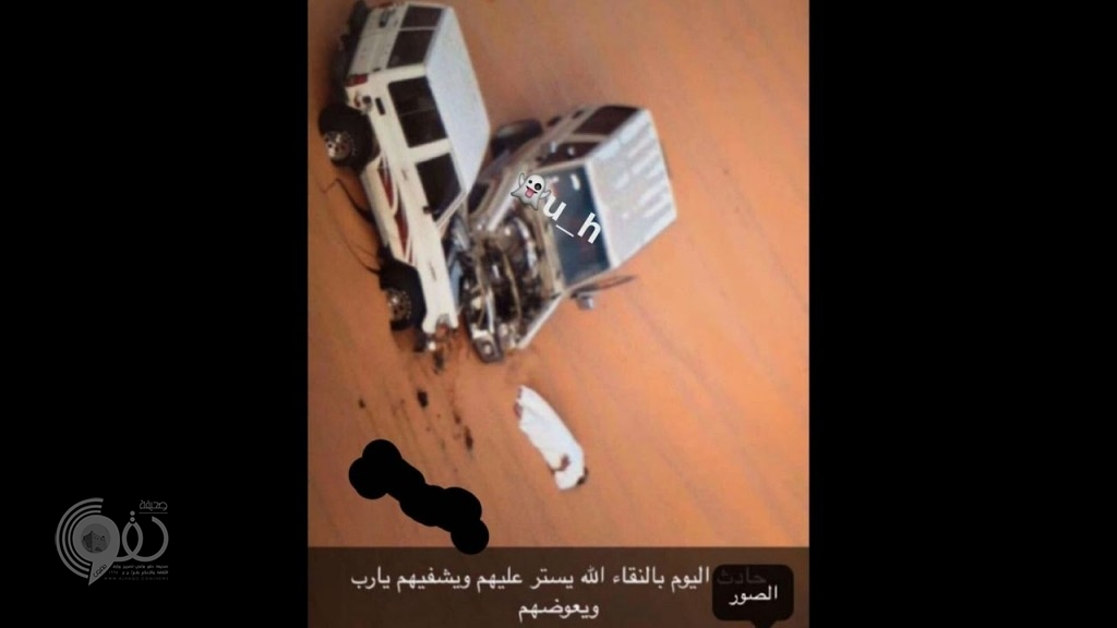 """بالفيديو: صدام عنيف بين مركبتين أثناء ممارسة هواية """"التطعيس"""" بالقصيم"""