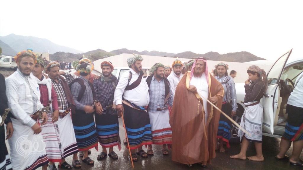 """قبائل الريث تحتفي بتنصيب الشيخ محمد الريثي"""" شيخاً لآل مسفوه"""
