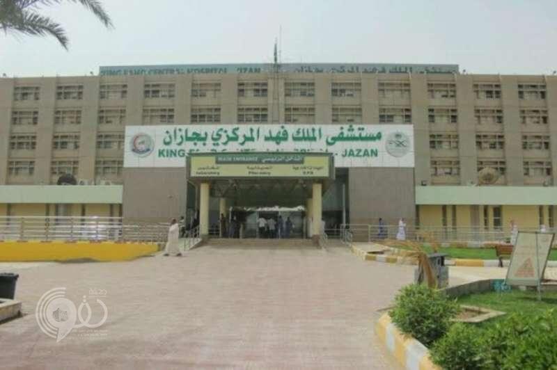 حريق في إسكان مستشفى الملك فهد المركزي بجازان