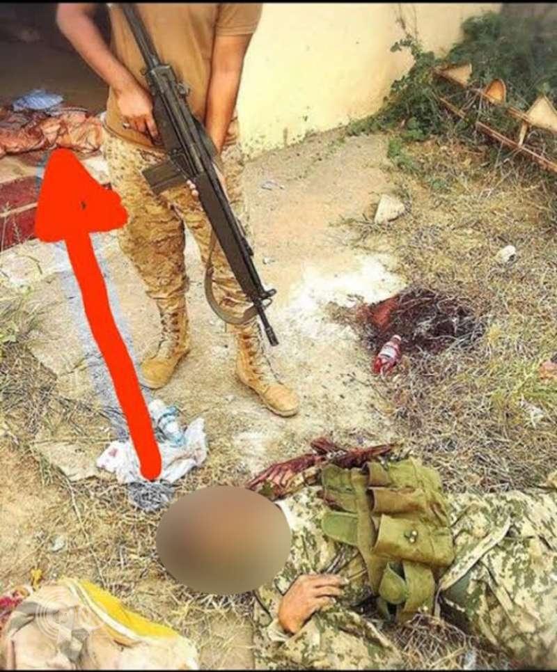 جندي سعودي يُنهي فيلم الحوثيين بالربوعة على طريقته