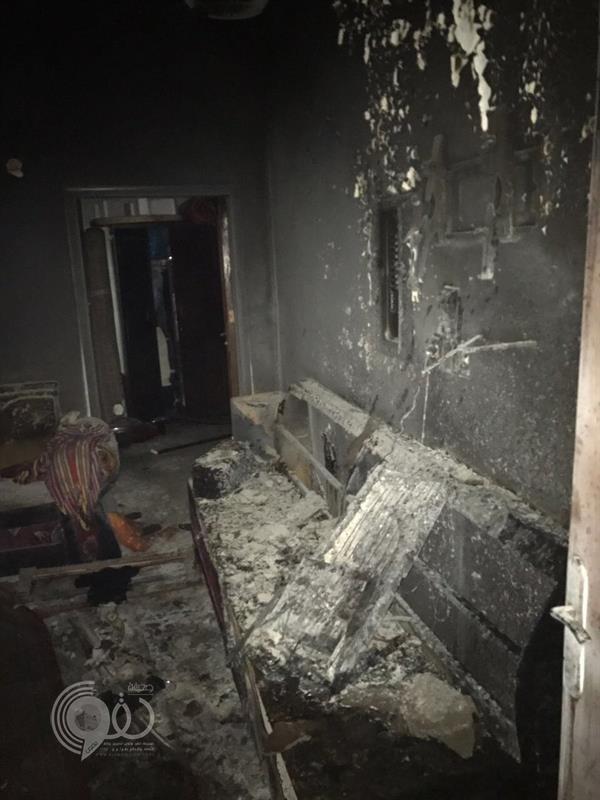 مواطن يحرق شقة عمداً ويتسبب في وفاة وإصابة 8 من عائلة واحدة بالدمام