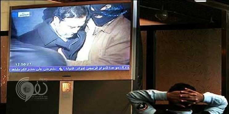 شاهد لأول مرة ماذا قال صدام حسين قبل وضع حبل المشنقة على رقبته!!- فيديو