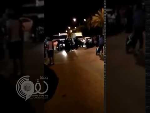 بالفيديو: تجمع للنساء الإثيوبيات يغلق شارع الفريان بالرياض.. والأمن يتدخل