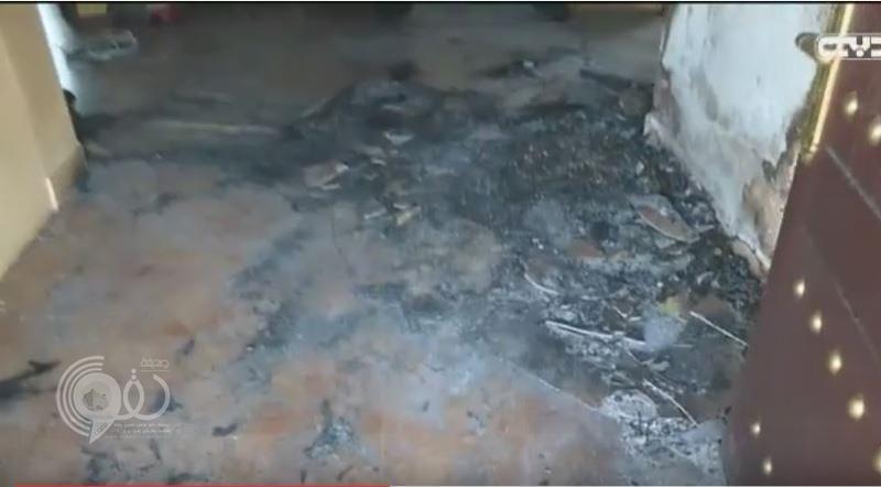 """ابن يشعل النار في والديه حتى الموت في جريمة صادمة بـ """"رأس الخيمة"""""""