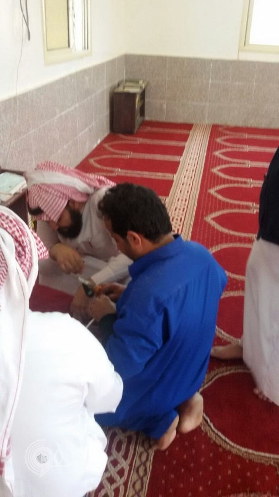 إدارة الاوقاف بمحافظة الريث في جولة على مساجد المحافظة-(صور)