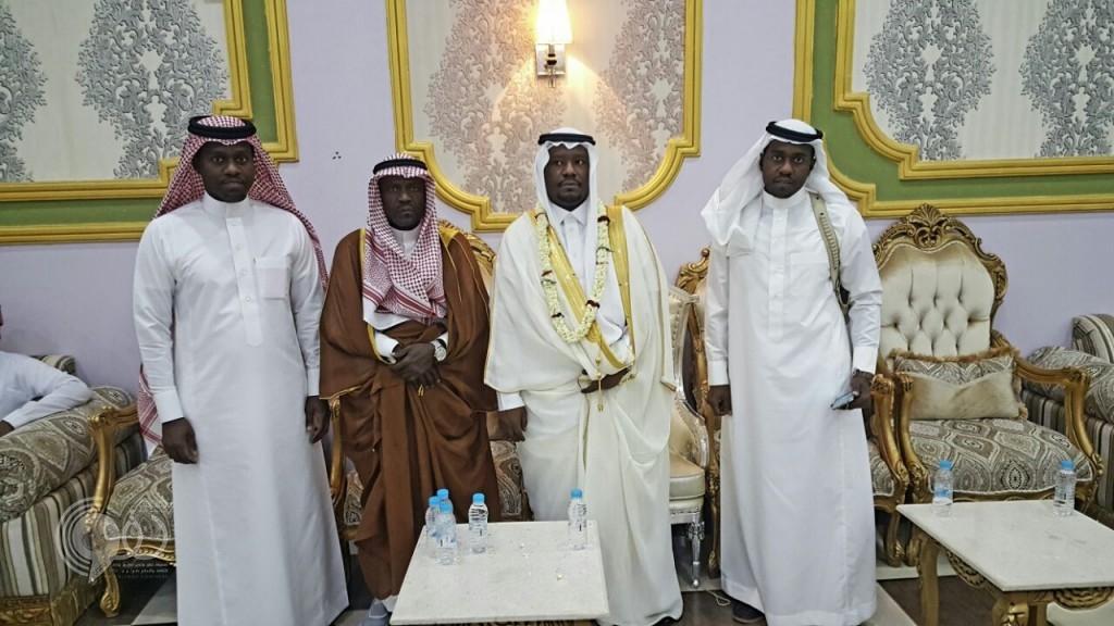 الشاب ربيع بن عبده بنيان يحتفل بزواجه من ابنة الشيخ مداوي بن إبراهيم حقوي