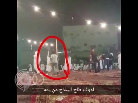 بالفيديو.. مُطلق نار في إحدى المناسبات كاد يتسبب بكارثة