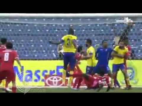 بالفيديو .. النصر يخطف فوزاً مثيراً أمام الوحدة