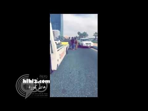 فيديو: فهد المولد يتعرض لحادث مروري في جدة