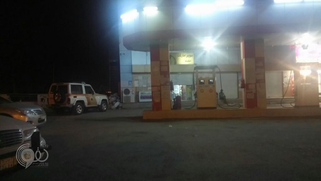 مركز الحقو : السطو على محطة بنزين وسرقة مايزيد عن (17) ألف ريال