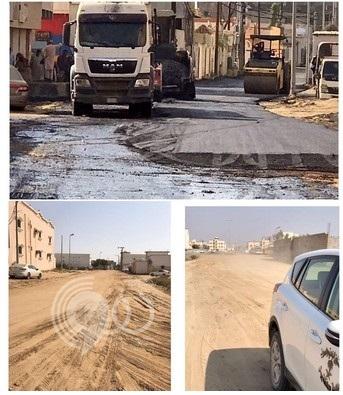 خطة عاجلة لمعالجة وضع شوارع محافظة بيش بجازان