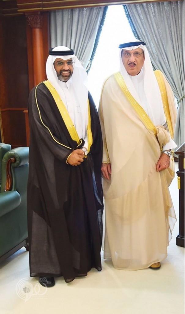"""""""الشهراني"""" فى ضيافة """"الأمير محمد بن ناصر بن عبدالعزيز"""""""