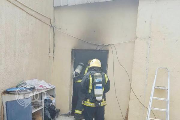 """مدني جازان ينقذ أسرة بالطوال من حريق """"كارثي"""""""