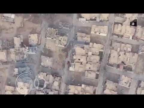 """بالفيديو: هذا ما حدث لانتحاري """"داعشي"""" يقود سيارة مفخخة قبل تفجيرها بلحظات في الموصل"""