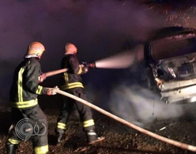 جازان : مصرع شابين وإصابة آخر في حادث مروع بجسر فرسان السقيد