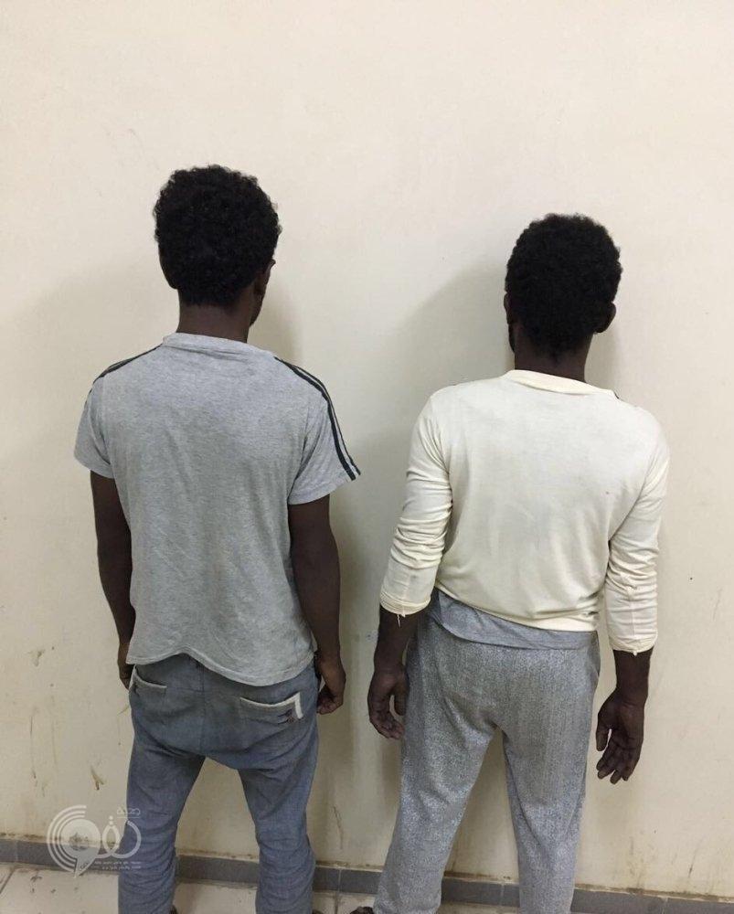 ضبط مخالفين متهمين بسرقة المركبات بصبيا