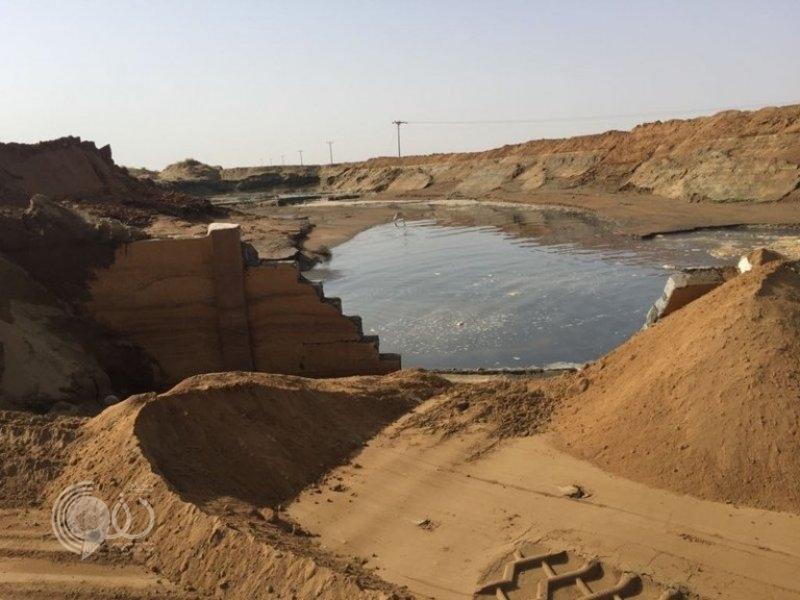 """""""مياه جازان"""" توضح سبب تسرب الصرف الصحي شمال بيش"""