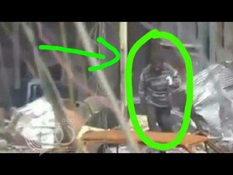 فيديو: داعش يفخخ رجلا مختلاً عقلياً بالموصل