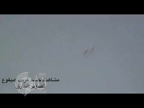 بالفيديو: جسم غريب مشتعل في سماء الجوف يفجر تساؤلات حول حقيقته وأسباب ظهوره!